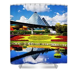 Shower Curtain featuring the photograph Color Of Imagination by Greg Fortier