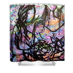 Color Of Lifes Shower Curtain