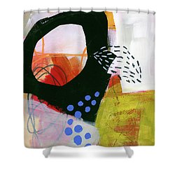 Color, Pattern, Line #3 Shower Curtain by Jane Davies