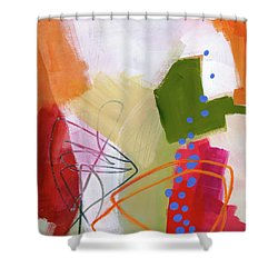 Color, Pattern, Line #4 Shower Curtain by Jane Davies