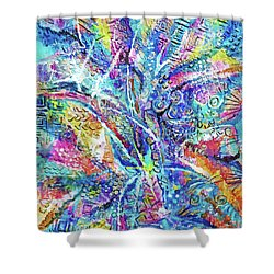 Color Play 1 Shower Curtain