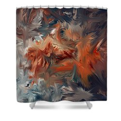 Color Reality 54 Shower Curtain