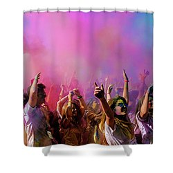 Shower Curtain featuring the photograph Color Sky by Okan YILMAZ