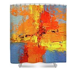 Color Splash 2 Shower Curtain
