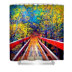 Color Springs Shower Curtain