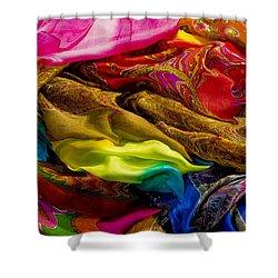 Color Storm Shower Curtain by Paul Wear