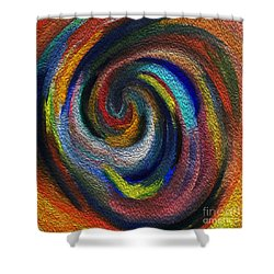 Vortex Of Passion Shower Curtain