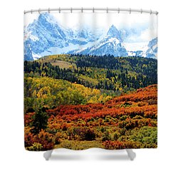 Colorado Autumn 2016 San Juan Mountains  Shower Curtain