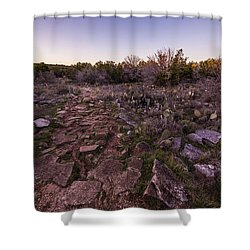 Colorado Bend State Park Gorman Falls Trail #1 Shower Curtain