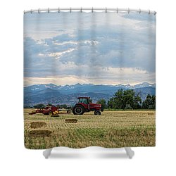 Shower Curtain featuring the photograph Colorado Country by James BO Insogna