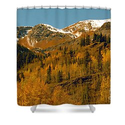 Colorado Shower Curtain by David Lee Thompson