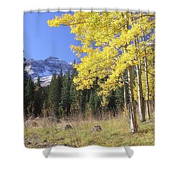 Colorado Dreamin' Shower Curtain by Eric Glaser