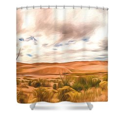 Colorado Dunes Shower Curtain
