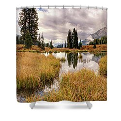 Colorado Fall Colors 3  Shower Curtain