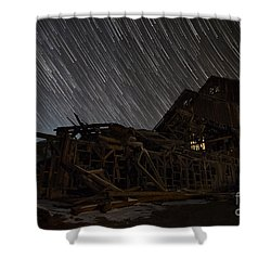 Colorado Gold Mine Shower Curtain