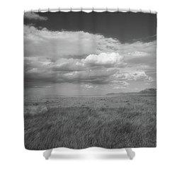 Colorado Grassland Shower Curtain