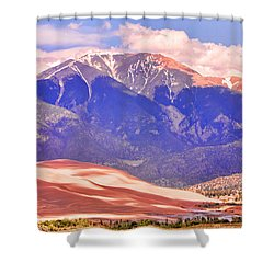 Colorado Great Sand Dunes National Park  Shower Curtain by James BO  Insogna