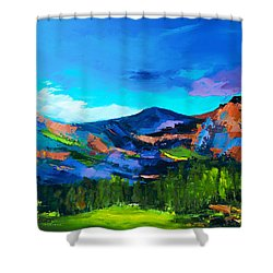 Colorado Hills Shower Curtain