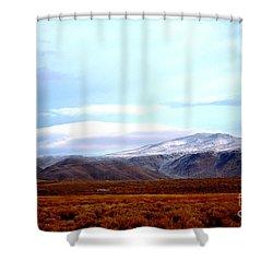Colorado Mountain Vista Shower Curtain