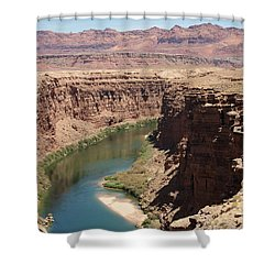 Colorado Red Shower Curtain