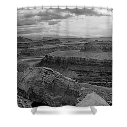 Colorado River Gooseneck Pano Shower Curtain