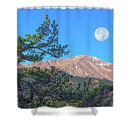 Colorado Rocky Mountain High, Just A Breath Away From Heaven Shower Curtain