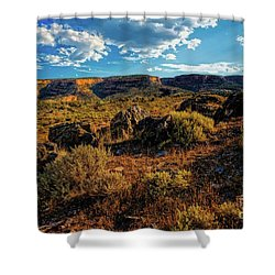 Colorado Summer Evening Shower Curtain