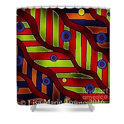 Colorblast 2 Shower Curtain