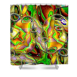 Colored Film Shower Curtain