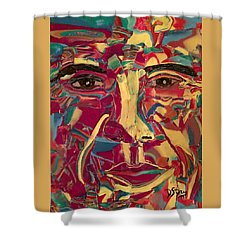 Colored Man Shower Curtain