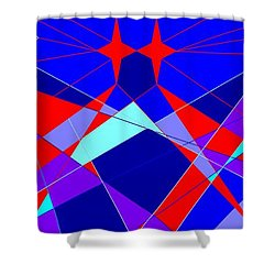 Colorful 1 Shower Curtain
