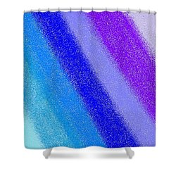 Colorful 3 Shower Curtain