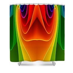 Colorful 3a Shower Curtain by Bruce Iorio