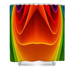 Colorful 3a1 Shower Curtain by Bruce Iorio