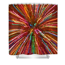 Colorful Abstract Photography Shower Curtain by James BO  Insogna