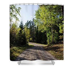 Shower Curtain featuring the photograph Colorful Adventure by Kennerth and Birgitta Kullman
