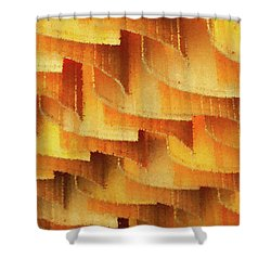 Colorful Bamboo Ceiling- China Shower Curtain