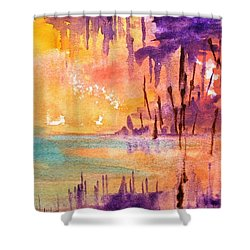 Colorful Bayou Shower Curtain