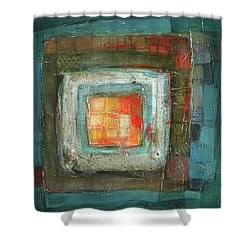 Colorful Shower Curtain by Behzad Sohrabi