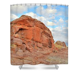 Colorful Castles At Valley Of Fire Shower Curtain