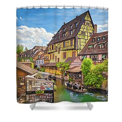 Colorful Colmar Shower Curtain