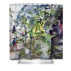 Colorful Foliage Shower Curtain