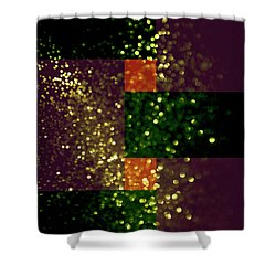 Colorful Geometric Abstract 3 Shower Curtain