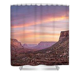 Colorful Havasupai Hike Shower Curtain