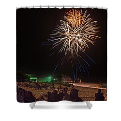 Shower Curtain featuring the photograph Colorful Kewaunee, Fourth by Bill Pevlor