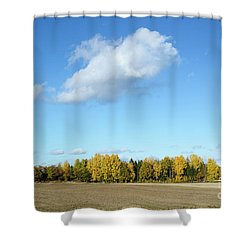Colorful Landscape Shower Curtain by Kennerth and Birgitta Kullman