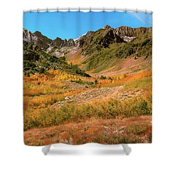 Colorful Mcgee Creek Valley Shower Curtain