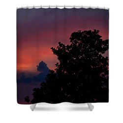 Colorful Mississippi Sky 4 Shower Curtain