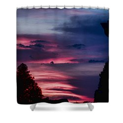 Colorful Mississippi Sky 5 Shower Curtain