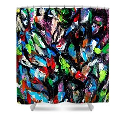 Colorful Of Life Shower Curtain